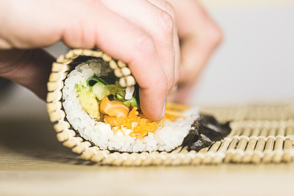 Makisu Stuoia Di Bambu Per Sushi